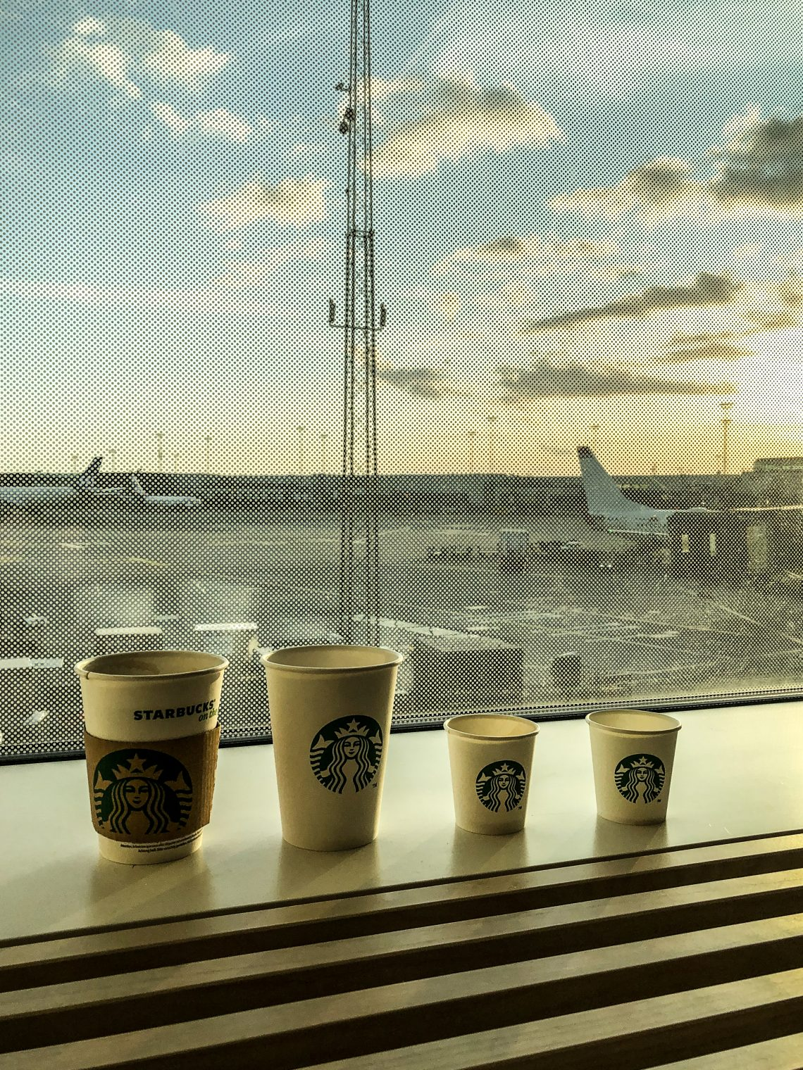 caffè aeroporto gate