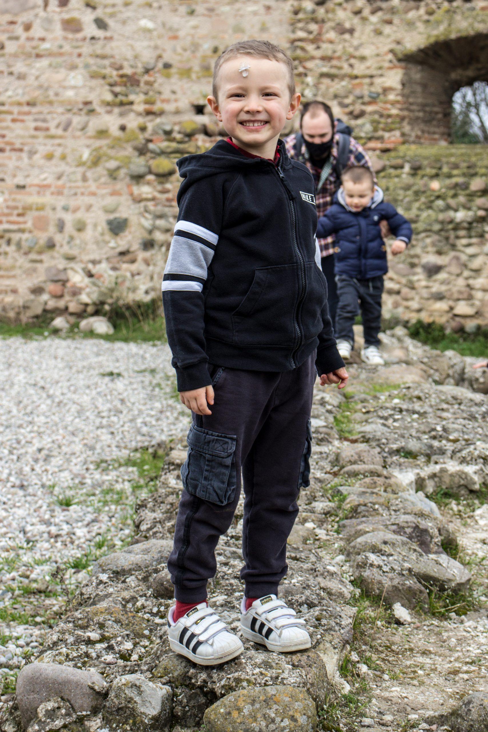 castello scaligero a Valeggio sul Mincio